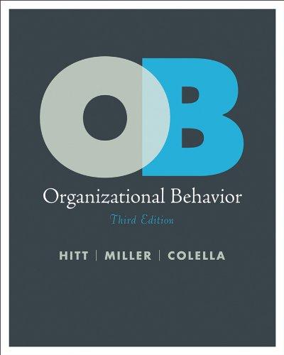 Organizational Behavior In A Criminal Justice Agency