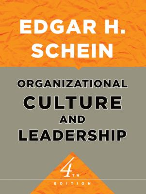 Organizational Culture and Leadership 9780470185865