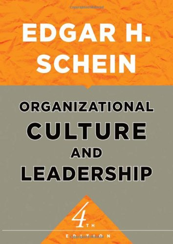 Organizational Culture and Leadership 9780470190609