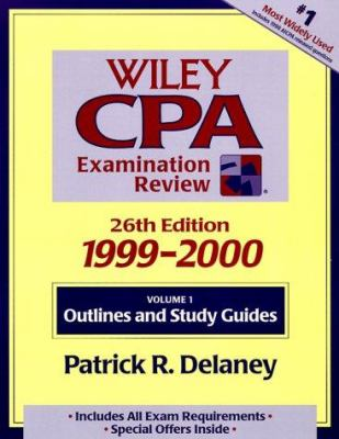 Wiley CPA Examination Review, 1999-2000, Outlines and Study Guides 9780471328834