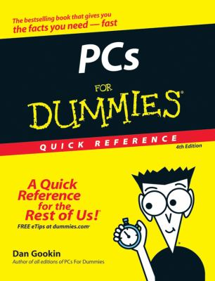 PCs for Dummies Quick Reference 9780470115268