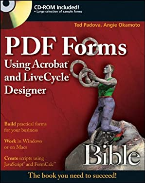 PDF Forms Using Acrobat and Livecycle Designer Bible 9780470400173
