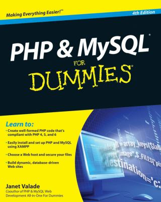 PHP and MySQL for Dummies 9780470527580