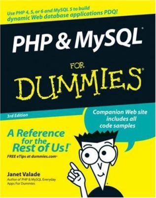 PHP & MySQL for Dummies 9780470096000