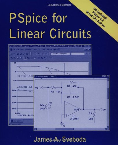 PSPICE for Linear Circuits [With CDROM] 9780471201946