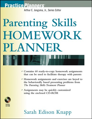 Parenting Skills Homework Planner [With CDROM] 9780471481829
