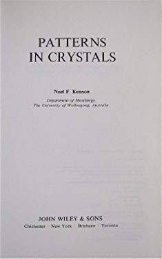 Patterns in Crystals 9780471997481
