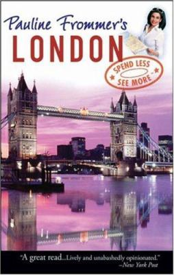 Pauline Frommer's London 9780470052280