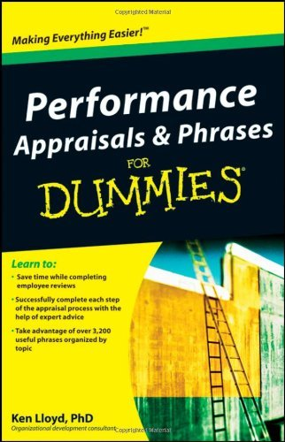 Performance Appraisals & Phrases for Dummies 9780470498729
