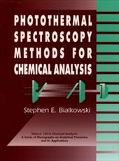 Photothermal Spectroscopy Methods for Chemical Analysis 1564818