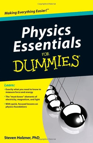 Physics Essentials for Dummies 9780470618417