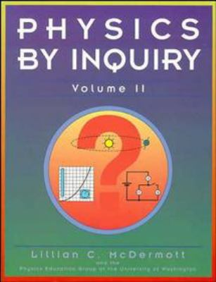 Physics by Inquiry 9780471144410