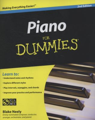 Piano for Dummies [With CDROM] 9780470496442