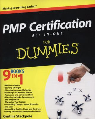 Pmp Certification All-In-One Desk Reference for Dummies 9780470087152