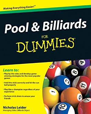 Pool & Billiards for Dummies 9780470565537