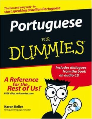 Portuguese for Dummies [With CD] 9780471787389