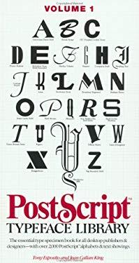 PostScript Typeface Library, Serif & Script 9780471285663
