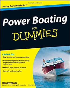 Power Boating for Dummies 9780470409565