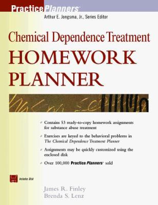 Chemical Dependence Treatment Homework Planner [With *] 9780471324522