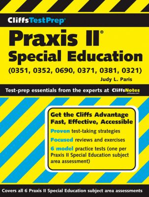Praxis II: Special Education (0351, 0352, 0690, 0371, 0381, 0321) 9780470238424