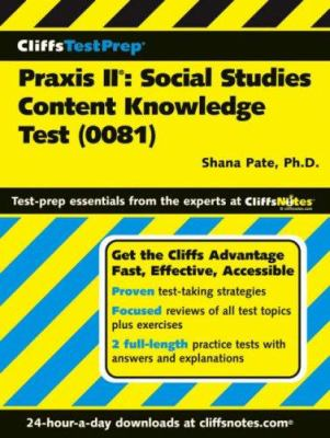 Praxis II: Social Content Knowledge Test: (0081) 9780471794127