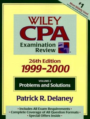 Wiley CPA Examination Review, 1999-2000, Problems and Solutions 9780471328841