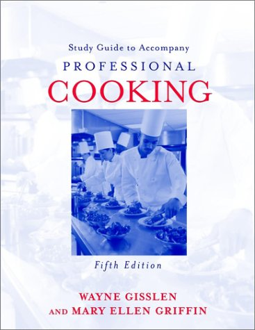 Professional Cooking, Study Guide 9780471219538