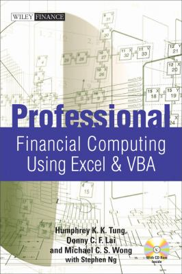 Professional Financial Computing Using Excel and VBA [With CDROM] 9780470824399