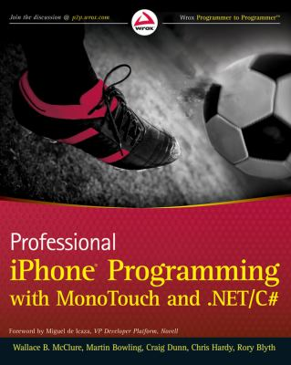 Professional iPhone Programming with MonoTouch and .NET/C# 9780470637821
