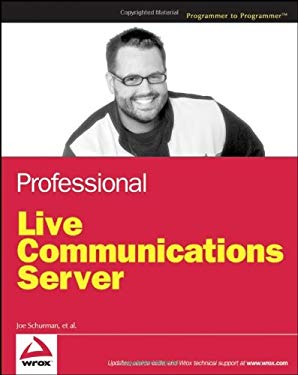 Professional Live Communications Server 9780471773214