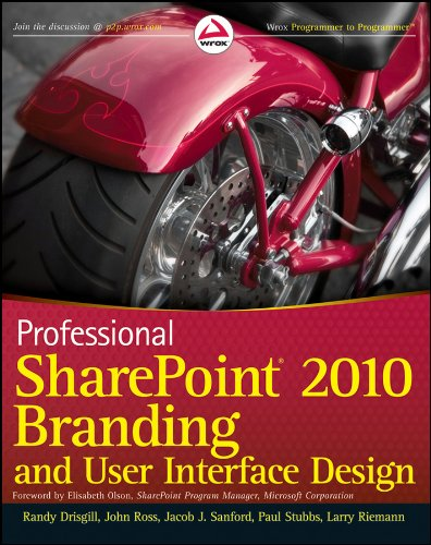 Professional Sharepoint 2010 Branding and User Interface Design 9780470584644