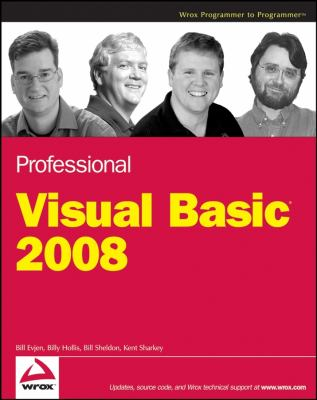 Professional Visual Basic 2008 9780470191361