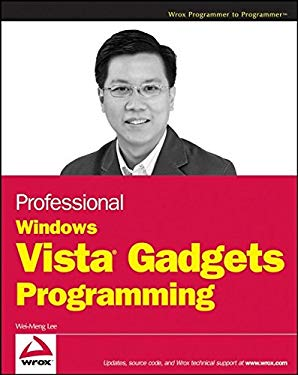 Professional Windows Vista Gadgets Programming 9780470176610