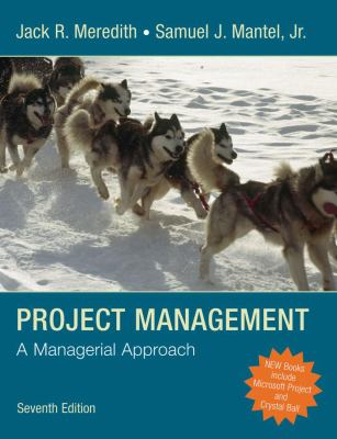 Project Management: A Managerial Approach [With CDROM and Website Password] 9780470226216