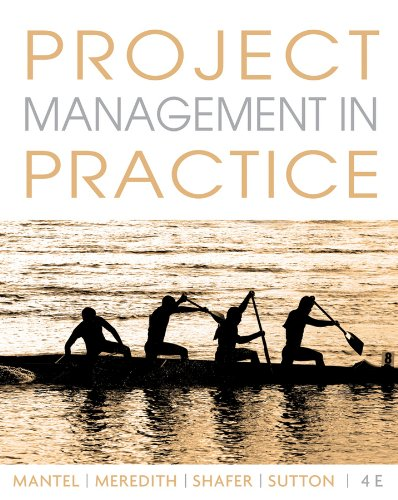 Project Management in Practice [With Access Code] 9780470533017