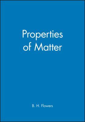 Properties of Matter 9780471264989