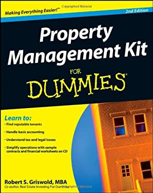 Property Management Kit for Dummies [With CDROM] 9780470293294