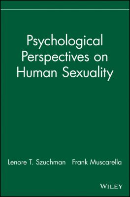 Psychological Perspectives on Human Sexuality 9780471244059