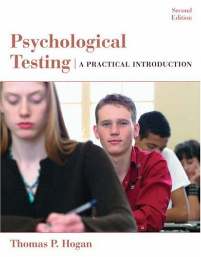 Psychological Testing: A Practical Introduction 9780471738077
