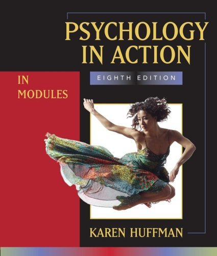 Psychology in Action in Modules 9780470083635