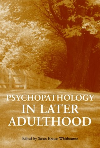 Psychopathology in Later Adulthood 9780471193593