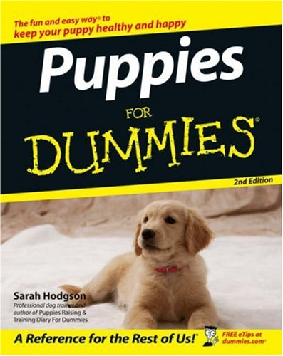 Puppies for Dummies 9780470037171