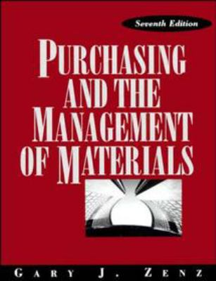 Purchasing and the Management of Materials 9780471549833