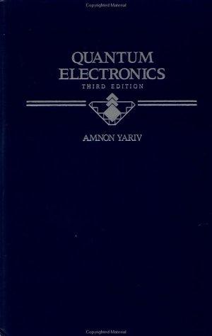 Quantum Electronics 9780471609971