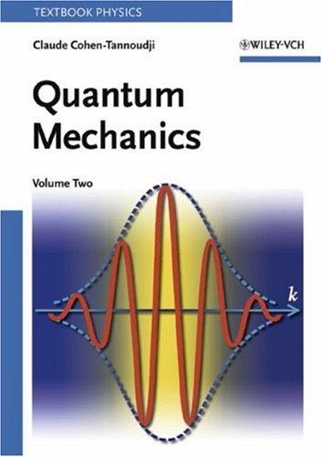Quantum Mechanics 9780471164357