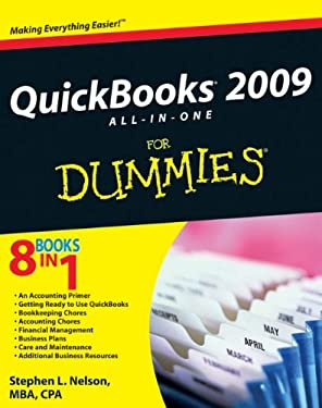 QuickBooks 2009 All-In-One for Dummies 9780470396520