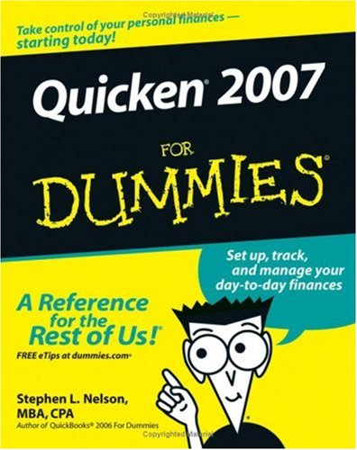 Quicken 2007 for Dummies 9780470046005