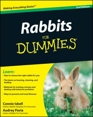 Rabbits for Dummies 9780470430644