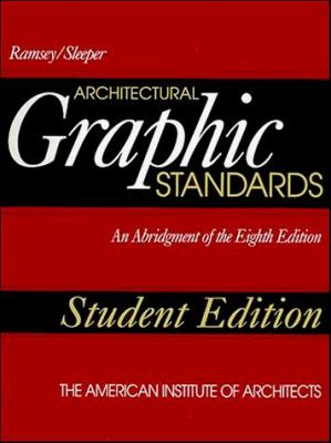 Architectural Graphic Standards 9780471012849