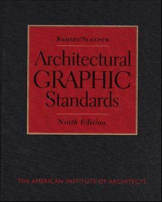 Ramsey/Sleeper Architectural Graphic Standards 9780471533696